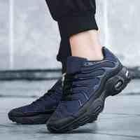 2020 nova moda primavera outono sapatos casuais dos homens tênis almofada de ar malha luz respirável esporte sapatos de corrida zapatos hombre