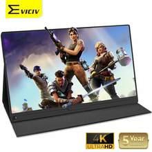 EVICIV – moniteur de jeu Portable 15.6 4K, écran externe IPS, HDR, double affichage 3840x2160, pour PS4, Xbox, HDMI