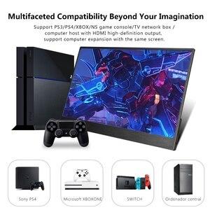 "Image 2 - Eyoyo EM13E 13.3 ""Tragbare Monitor IPS FHD 1080P LCD Screen USB C HDMI Laptop Zweite Display für PC laptop Handy Xbox Schalter PS4"