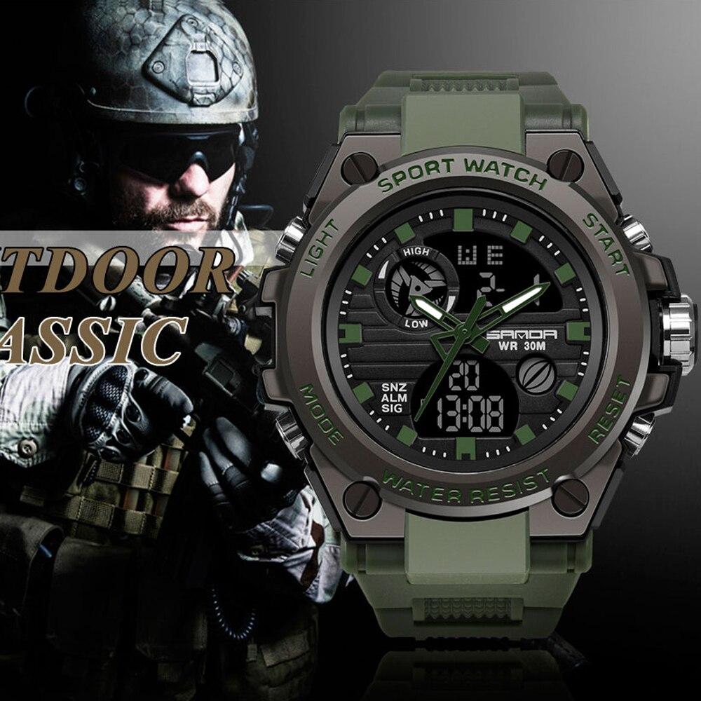 Digital Watch Multi-Function Military Waterproof Men's Outdoor Newest Sport Relogio Masculino
