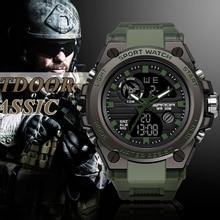 2020 Newest men's watch sport multi-function waterproof digital watch