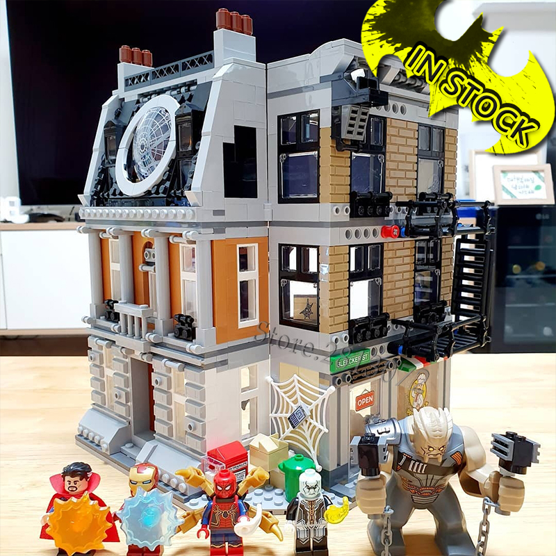 In Stock 07107 Super Heroes Building Blocks 76108 Sanctum Sanctorum Showdown Avengers 07120 07121 07122 07123 7114