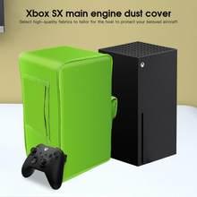 Para xbox x série host capa de poeira console durável à prova dwaterproof água poeira guarda com alça de armazenamento capa protetora