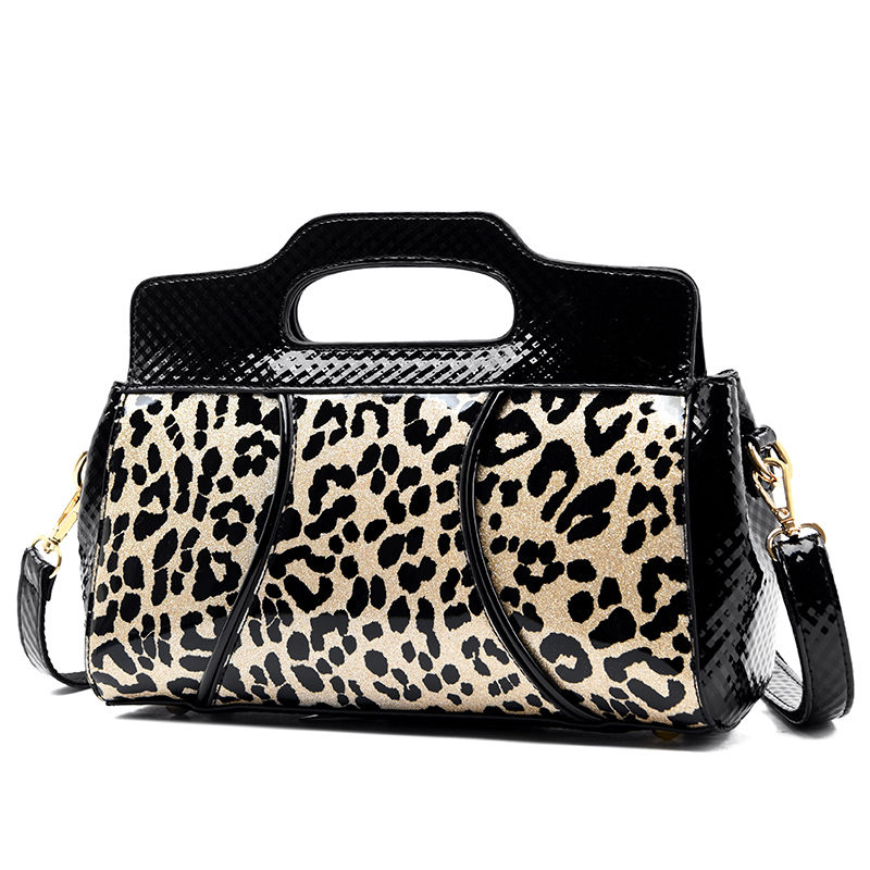 2020 New Fashion Crossbody Bags For Women Leopard Patent Leather Bags Handbags Women Famous Brands Shoulder Bag Sac A Main Femme