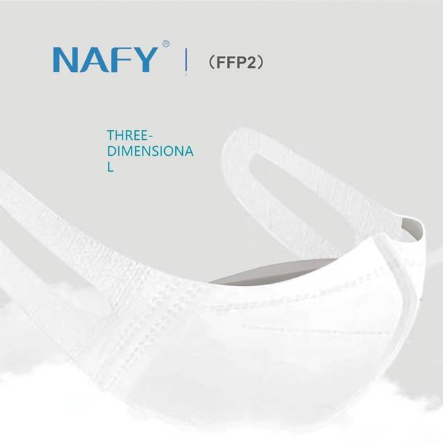 New NAFY CE2163 FFP2mask Filter Face FFP2 Masks Anti-Pollution Non-disposable Protective Masks Dust Filter Safety Mask 3