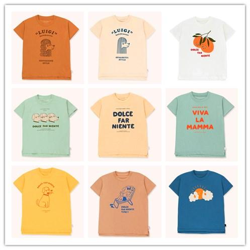 2020 TINY Kids T Shirts Girls Tops Cotton  Toddler Tshirt  Girls Tops  Girls Raglan  Nununu  Boys Tops Baby Shark Clothes