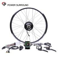2020Color display Waterproof Electric Bike Kit 48v500w Shengyi Rear Cassette Conversion Brushless Hub Motors 20'' 26'' 28''Wheel
