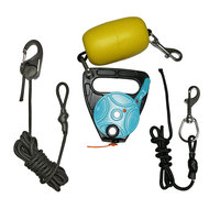 Quick Release Anchor Trolly Line Management Deployment Anchor Safety Employ System Method Retractalbe Way for Kayak Canoe Dinghy