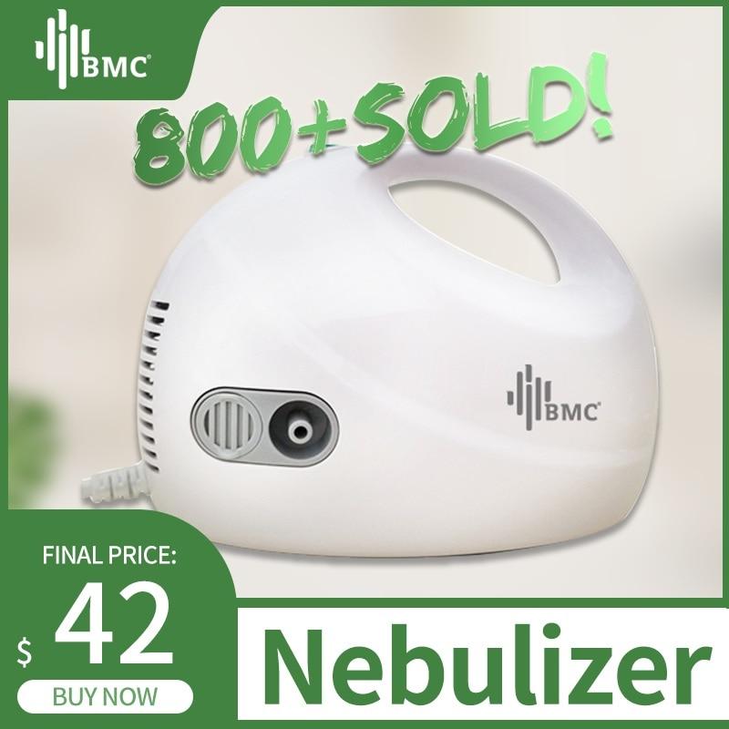 BMC Family Health Care Compressed Nebulizer Adult Children Asthma Inhaler Nebulizator Medical Handheld Automizer Steaming Device