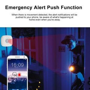 Image 5 - Capteur de mouvement PIR, détecteur infrarouge sans fil, alarme de sécurité anti cambriolage, contrôle avec application Tuya, Compatible avec IFTTT pour maison connectée
