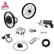 QSMOTOR 205 50H V3/V3I elektrikli yüksek güç bisiklet kiti TFT H6 hız göstergesi elektrikli bisiklet