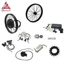 Qsmotor 205 50H V3/V3I Elektrische High Power Fiets Kit Met Tft H6 Snelheidsmeter Voor Elektrische Fiets