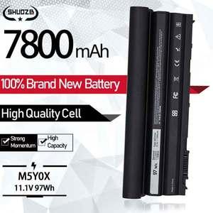 New Laptop Battery E6430 11.1V 97Wh For DELL Latitude 71R31 8858X T54FJ X57F1 T54F3 E6420 E6520 E5420 E5520 M5Y0X NHXVW 9Cells