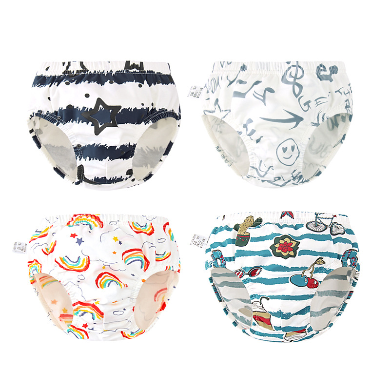 Toddler Baby Underwear Cotton Baby Boys Underpants Lovely Print Diaper Cover Infant Shorts Briefs Infant Panties Quality Gift