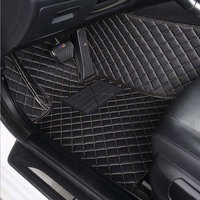 Car floor mats accessories for chrysler 300c 2009 2011 waterproof car styling car carpet car mats accessory tapis voiture tapete