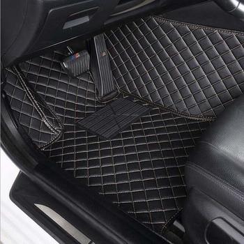 Car floor mats for skoda fabia 2  2015-2018 waterproof leather car styling car carpet car mats accessory tapis voiture