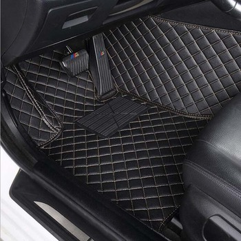 Car floor mats for toyota aygo accessories  waterproof leather car styling car carpet car mats accessory tapis voiture