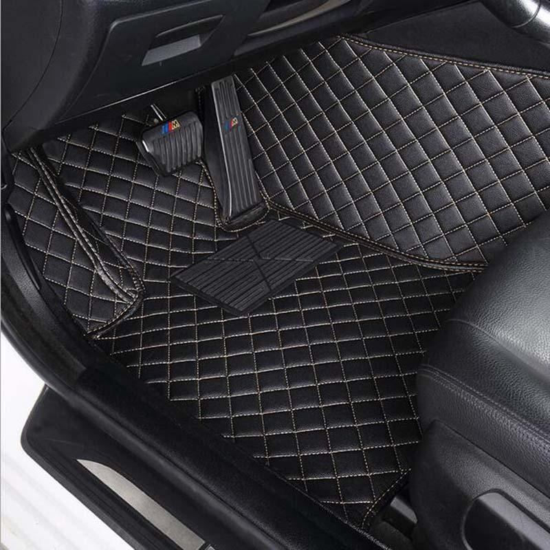 Car Floor Mats For Toyota Sienna 7 Seater 2006 2008 Waterproof Car