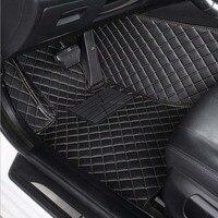 Esteiras do assoalho do carro para MG EZS 2019 leme Direito à prova d' água estilo do carro tapetes tapetes de carpete do carro acessório do carro tapis voiture carro