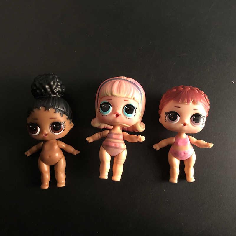 1 Uds. Al azar, muñecas sorpresa originales LOL, juguetes rompecabezas bolsa ciega para ídolos, muñecas, juguetes, muñecas, regalo de cumpleaños para niñas