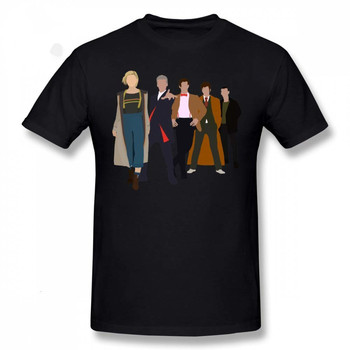 Doctor who all five latest doctors T-Shirt 1