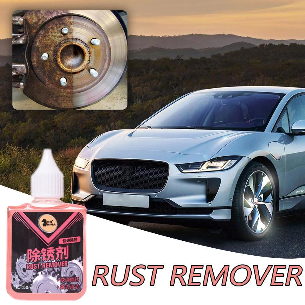 New Rust Cleaner Steel Wool Polishing Rust Remover Spray Rust Cleaning Inhibitor Antirust For The Car Cleaner Accessories 50ml