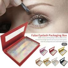 5 Pairs Eyelash Packaging Box With Lash Tray Lash Box Make Faux Tools Mink Packaging Up Case Lashes Empty Packing Beauty B4O2