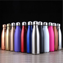 350/500/750/1000ml Stainles Steel Water Bottle Thermos Insul