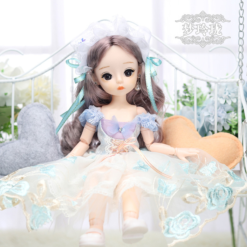 12 Inches Princess 30cm Joints BJD Suit Series Doll Toys for Girls Children Birthday Christmas Gifts 8