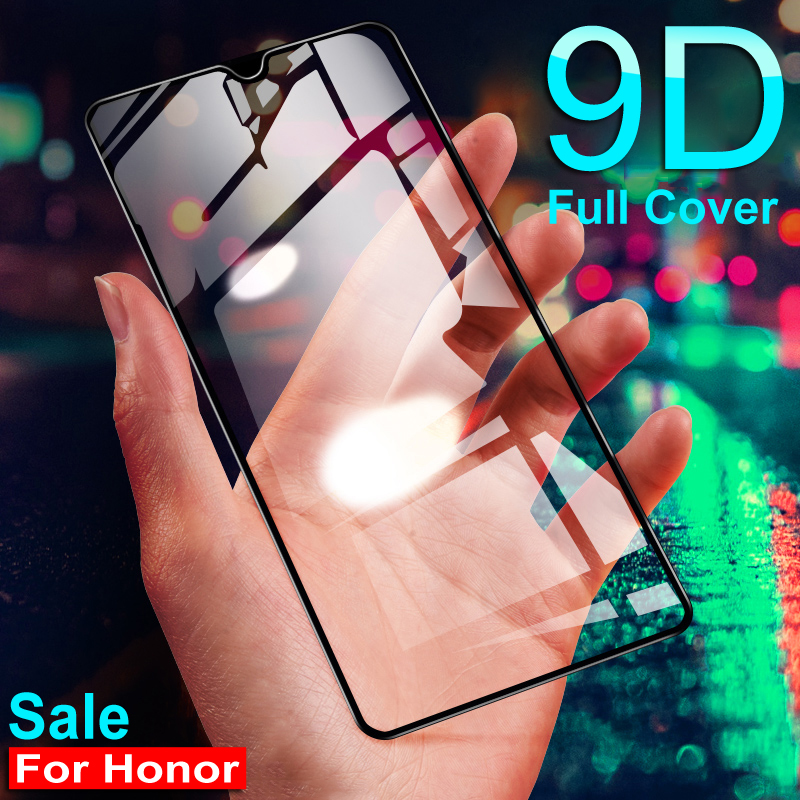 Protective-Glass Screen-Protector Safety-Film-Case Huawei Honor 20-Lite 9D 8A 8X  title=