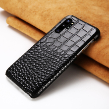 Genuine Leather mobile phone case for Samsung note 10 Note 1