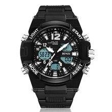 Electronic Men Wrist Watch Military Sport Brand Luxury Digital Shock LED Outdoor Waterproof Big Face Running