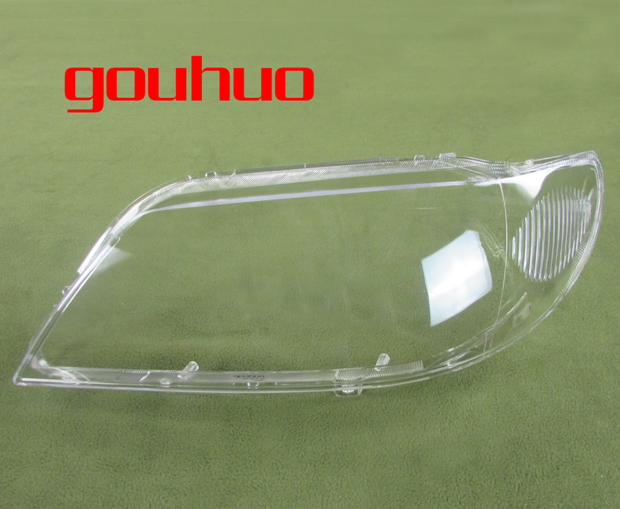 For Mazda 323 Familia Headlight Shell Headlight Cover Headlamp Glass Lampshade PC Transparent Lampshade