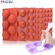Форма для шоколадной сферы, полушаровая форма, силиконовая форма для шоколадного торта, мусс для десерта, оборудование для выпечки
