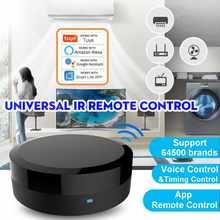 Universal ir inteligente controle remoto wifi + infravermelho casa controle hub tuya aplicativo funciona com google assistente alexa siri app inteligente