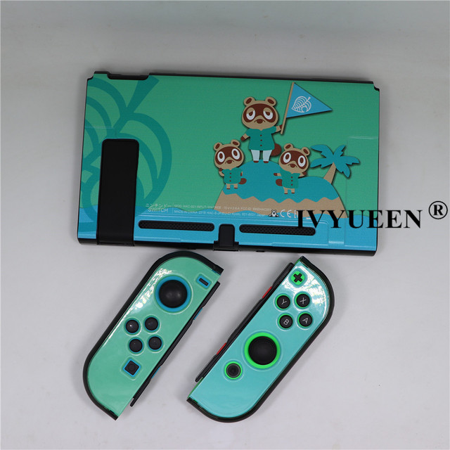 IVYUEEN Animal Crossing for Nintend Switch NS Console Protective Hard Case Shell for Nintendos Switch Joy Con Ultra Thin Cover