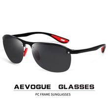 AEVOGUE Polarized Sunglasses For Men Rimless Cool Driving Fishing Goggle Sun
