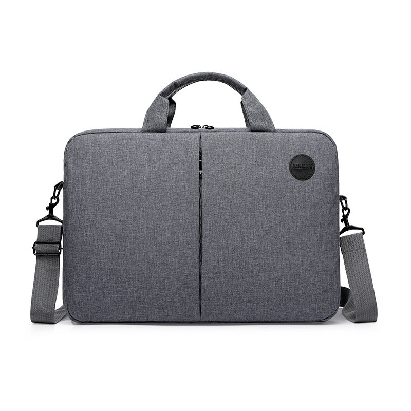 2019new Fashion Leisure One Shoulder Handbag Men's Business Notebook Waterproof 15.6 Inch Computer Briefcase Leather Laptop Bag