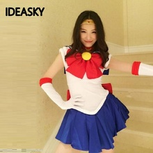 Anime plus size adult sexy super sailor moon Tsukino Usagi costume for kids outfits women costumes cosplay halloween fancy dress