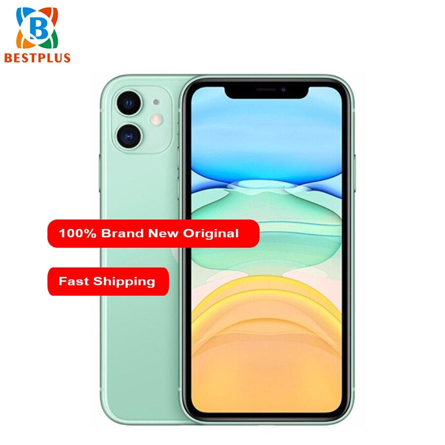 "2019 New Apple iphone 11 A2223 Mobile Phone 6.1\"" 4GB RAM 256GB ROM Hexa-core iOS 13 3046 mAh IP68 waterproof Dual SIM Cell Phone"