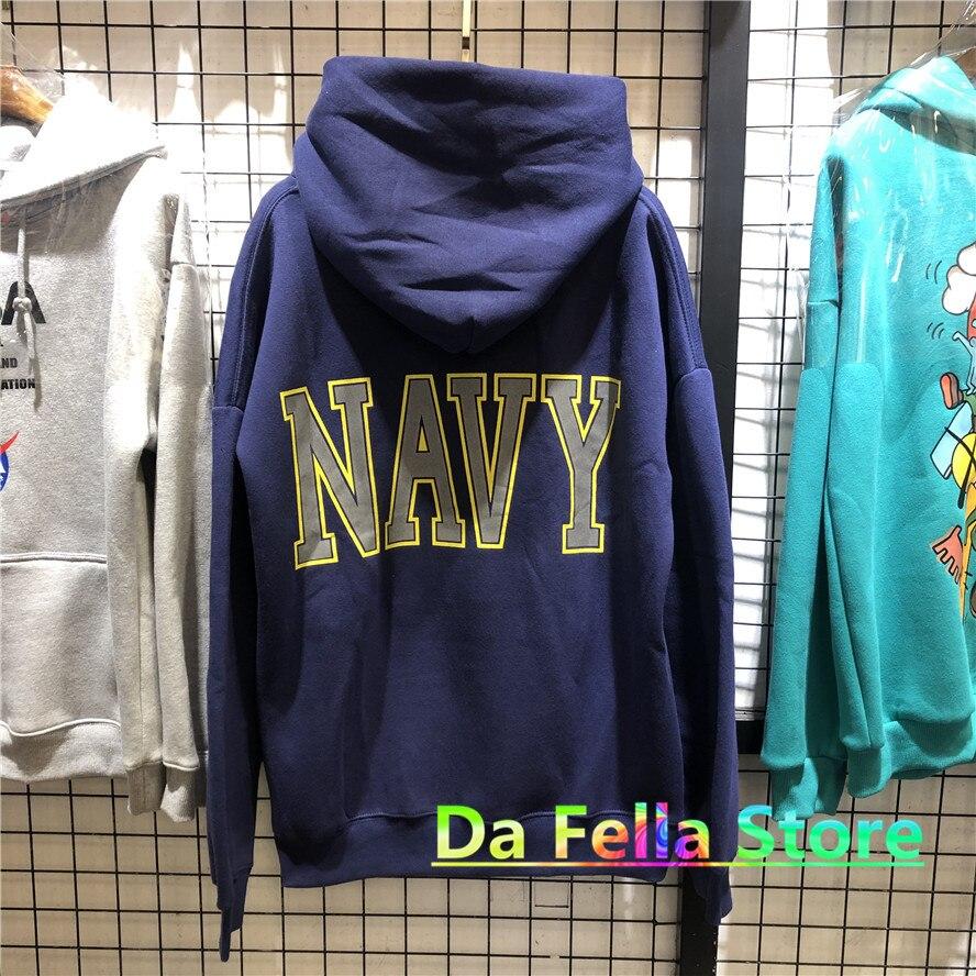 Jesus is king Kanye West United States Navy Reflective Logo Sweatshirts Hoodie  4