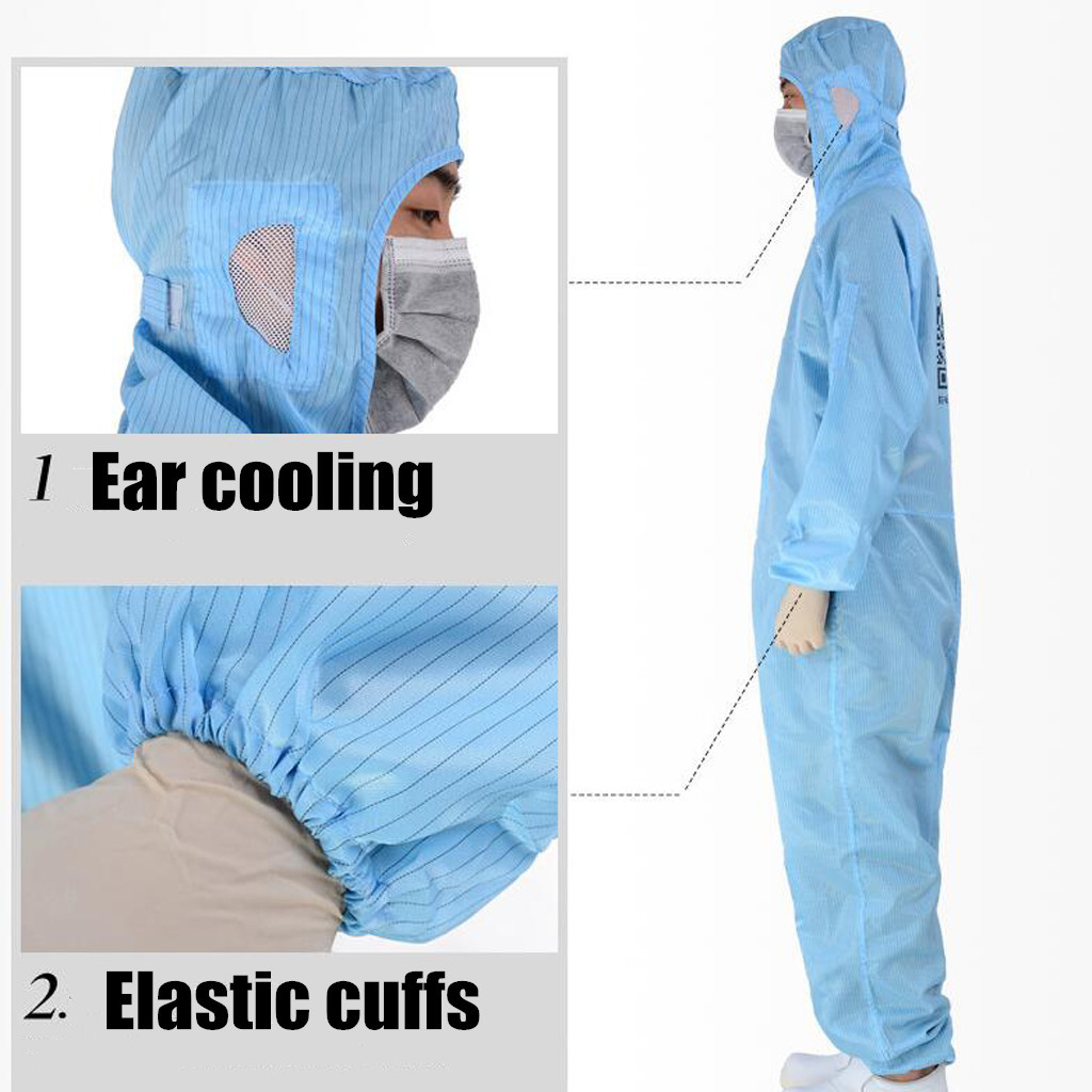 Disposable Protective Clothing as Coverall Medical Uniform and Isolation Suit for Nurse and Doctors 13