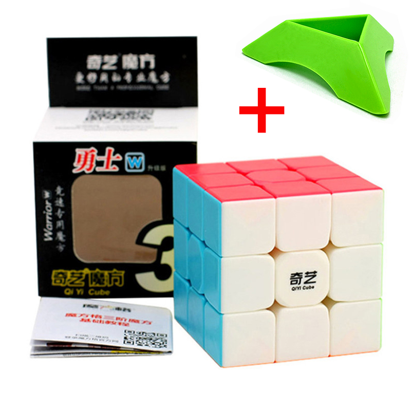 Qiyi Warrior W Colorful 3x3x3 Cube 3 Layers Magic Cube Profissional Competition Cubo 3x3 Neo Puzzle Speed Cube Toys For Children