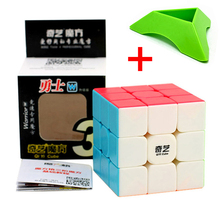 Qiyi Warrior W Colorful 3x3x3 Cube 3 Layers Magic Profissional Competition Cubo 3x3 Neo Puzzle Speed Toys For Children