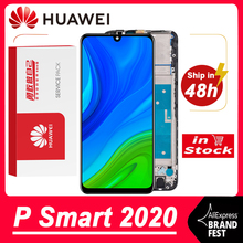 100% Tested 6.1 IPS Display For Huawei P Smart 2020 LCD Touch Screen Digitizer Assembly For P Smart 2020 POT LX1A LCD Display