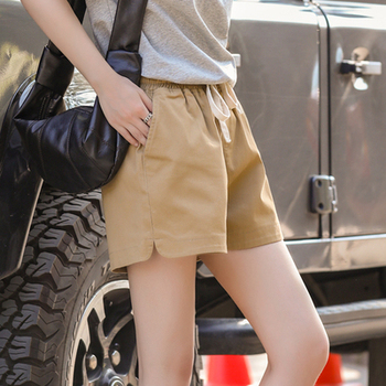 NEW Shorts women's casual and versatile show slim leg length fashion wear low waist summer A-line slim
