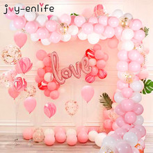 113pcs Wedding Decoration Balloons Garland Arch Birthday Party Background Strip Chain for Baby Shower Balloon