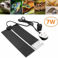Reptiles Heat Mat 5-45W Climbing Pet Warm Heating Pads Adjustable Temperature Controller Mats Reptiles Supplies EU/US/UK