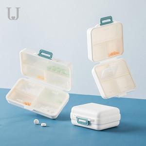 Image 2 - Youpin Jordan&Judy PP Portable Small Pill Box Sealed Packing Kit Mini Pill Box 7 Compartments Carrying The Medicine Box