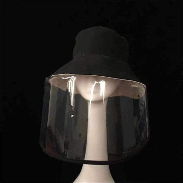 Anti-spitting Safe Head Face Cover Outdoor Protective Adjustable Size Mesh Face Mask For Flu Air Pollution Breathable Hat Cover 2